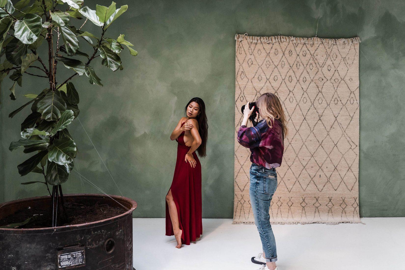 Mandy als fotograaf