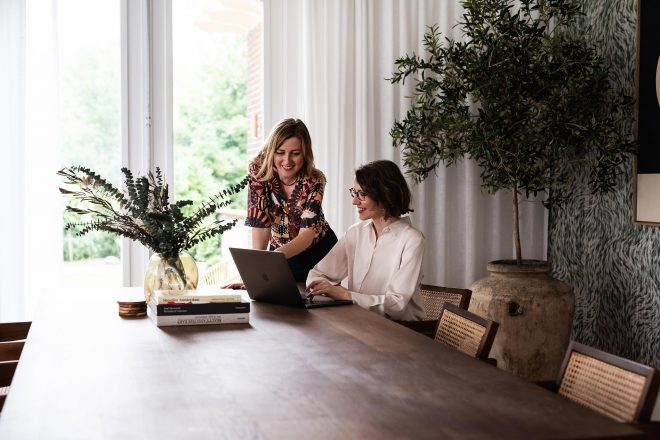 Mandy en Linsey van Brander & Brander, website laten maken